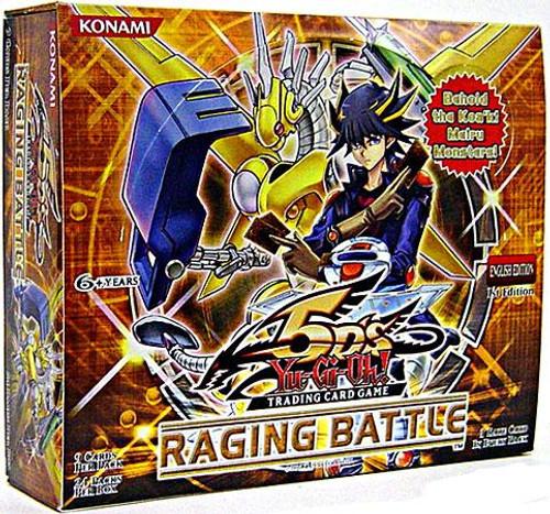 YuGiOh Raging Battle Booster Box [24 Packs] [Sealed]