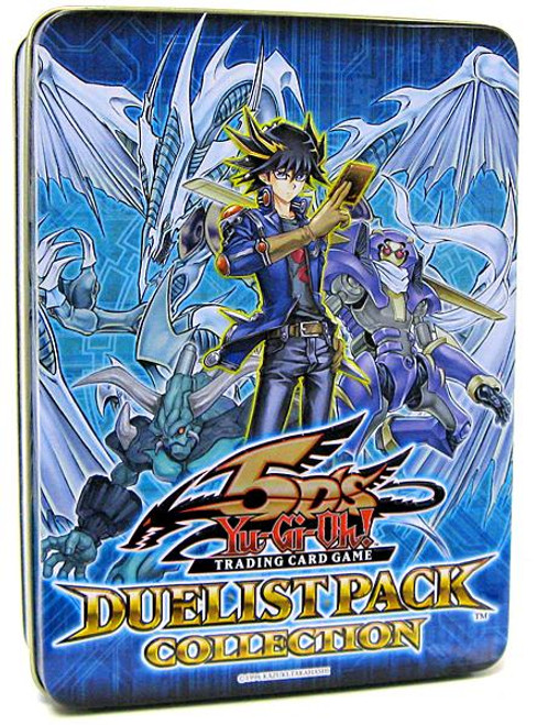 YuGiOh 5D's 2009 Collector Tin Duelist Pack Collector Tin [Blue] [Sealed]