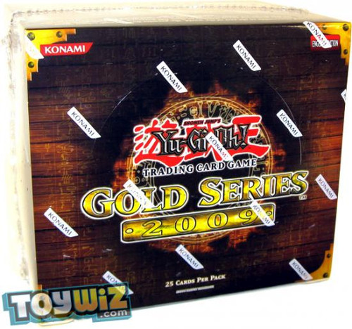 YuGiOh Gold Series 2 2009 Exclusive Booster Box [5 Packs] [Sealed]