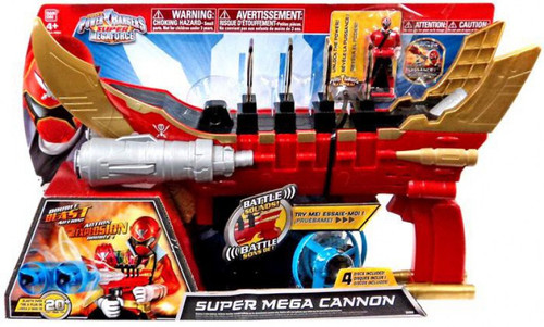 Power Rangers Super Megaforce Super Mega Cannon Roleplay Toy