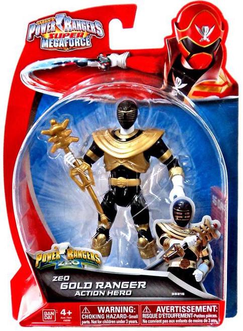 Power Rangers Super Megaforce Zeo Gold Ranger Action Figure