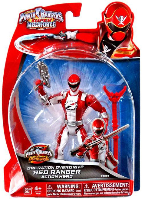Power Rangers Super Megaforce Red Ranger Action Figure [Operation Overdrive]