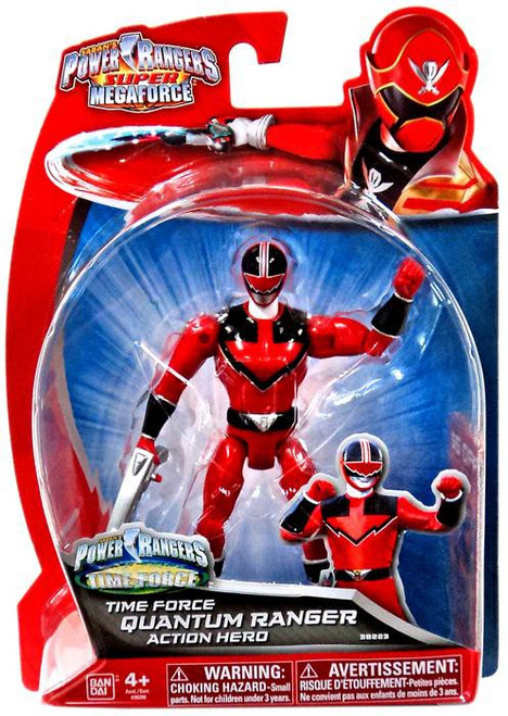 Power Rangers Super Megaforce Time Force Quantum Ranger Action Figure