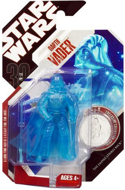 Star Wars The Empire Strikes Back 30th Anniversary 2007 Wave 8 Darth Vader Action Figure #48 [Holographic]