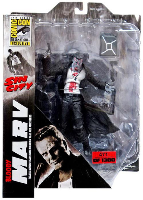 Sin City Marv Exclusive Action Figure [Bloody]