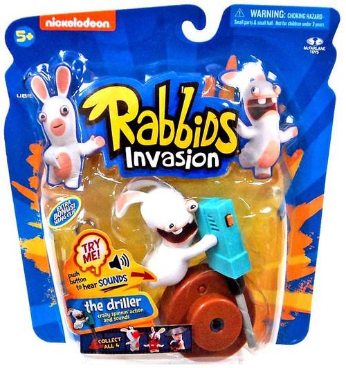 McFarlane Toys Raving Rabbids Rabbids Invasion The Driller Action Figure