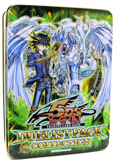 YuGiOh 5D's 2009 Collector Tin Duelist Pack Exclusive Collector Tin [Green] [Sealed]