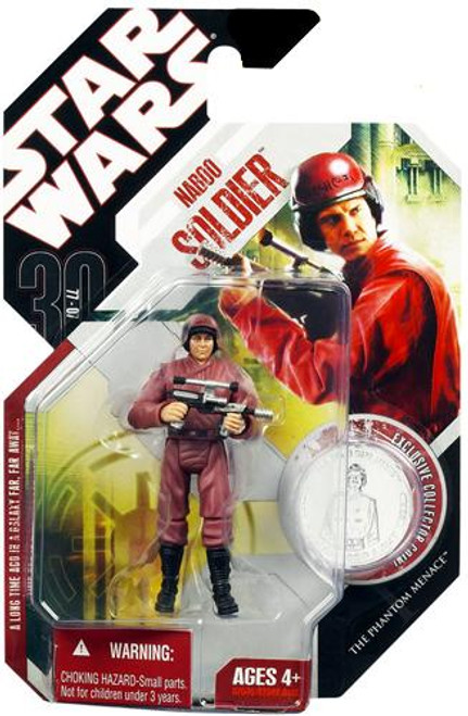 Star Wars The Phantom Menace 30th Anniversary 2007 Wave 8 Naboo Soldier Action Figure #52