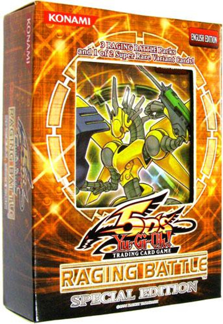 YuGiOh Raging Battle Special Edition Pack [3 Booster Packs & 1 Random Promo Card] [Sealed]