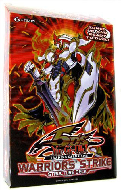 YuGiOh Structure Deck: Warriors' Strike Warriors' Strike Structure Deck [1st Edition] [Sealed Deck]