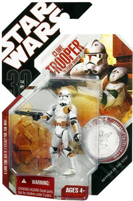 Star Wars Revenge of the Sith 30th Anniversary 2007 Wave 8 Clone Trooper Action Figure #49 [7th Legion]