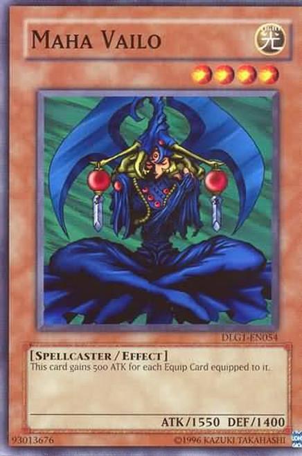 YuGiOh Dark Legends Common Maha Vailo DLG1-EN054