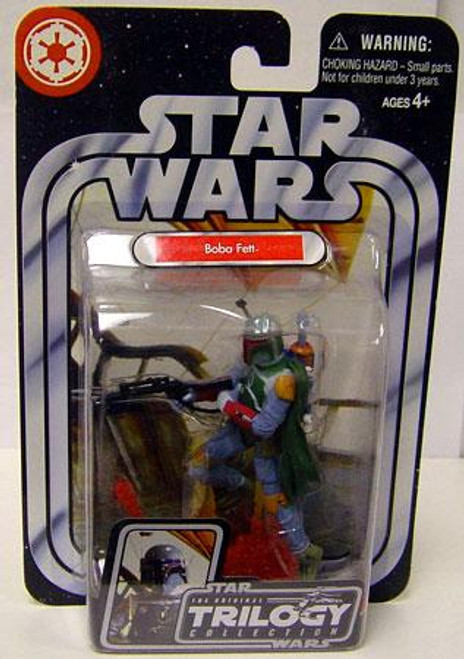 Star Wars Return of the Jedi Original Trilogy Collection 2004 Boba Fett Action Figure #14 [Return of the Jedi]