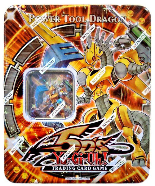 YuGiOh 5D's 2009 Collector Tin Power Tool Dragon Collector Tin [Sealed]