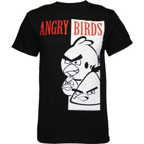 big bird adult tshirt