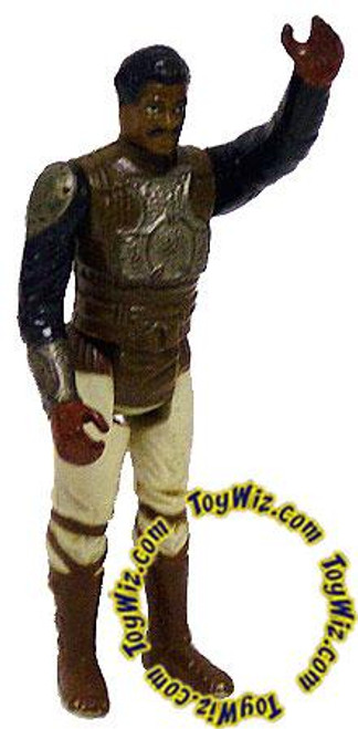 Star Wars A New Hope Vintage 1982 Lando Skiff Guard Action Figure [Silver Armor, Loose Incomplete C-6]