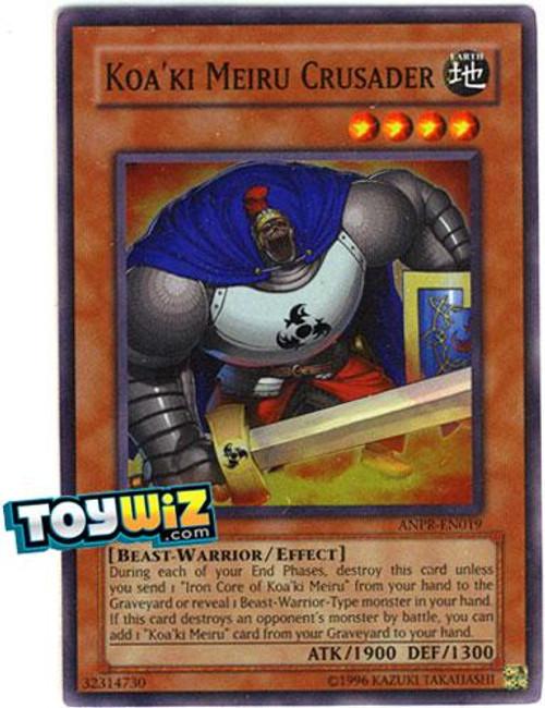 YuGiOh Ancient Prophecy Super Rare Koa'ki Meiru Crusader ANPR-EN019