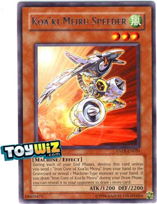 YuGiOh Ancient Prophecy Rare Koa'ki Meiru Speeder ANPR-EN020