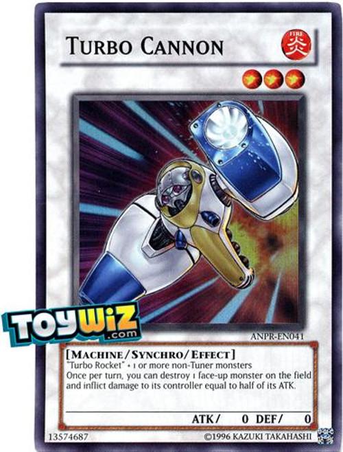 YuGiOh Ancient Prophecy Super Rare Turbo Cannon ANPR-EN041