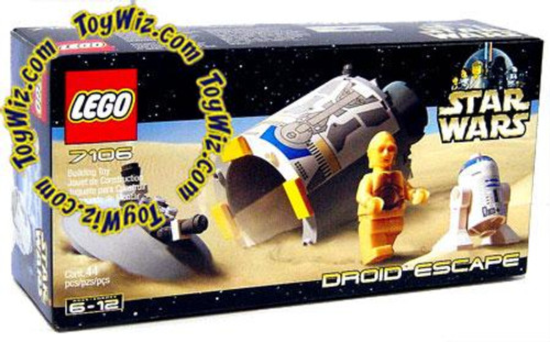 LEGO Star Wars A New Hope Droid Escape Mini Set #7106