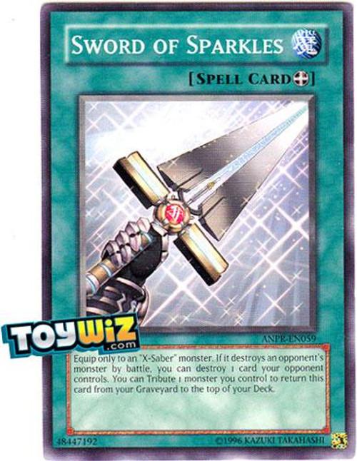 YuGiOh Ancient Prophecy Common Sword of Sparkles ANPR-EN059