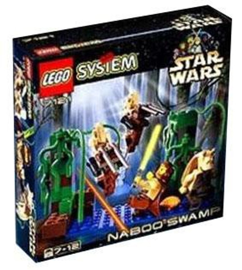 LEGO Star Wars The Phantom Menace Naboo Swamp Set #7121