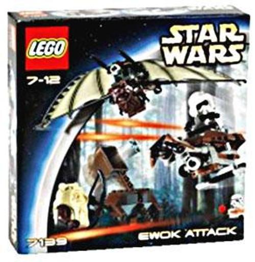 LEGO Star Wars Return of the Jedi Ewok Attack Set #7139