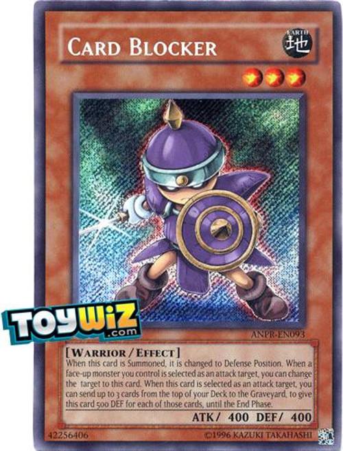 YuGiOh Ancient Prophecy Secret Rare Card Blocker ANPR-EN093