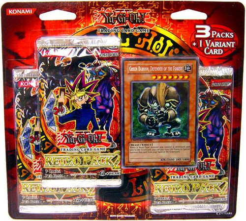 YuGiOh Retro Pack 2 Retro 2 Special Edition Pack [Sealed]