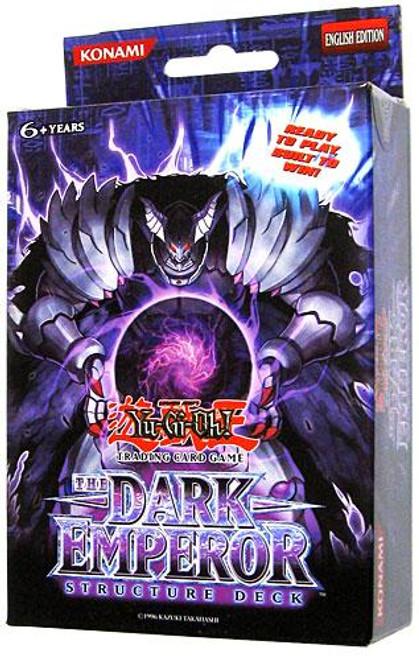 YuGiOh Structure Deck: The Dark Emperor The Dark Emperor Structure Deck [Unlimited Edition] [Sealed Deck]