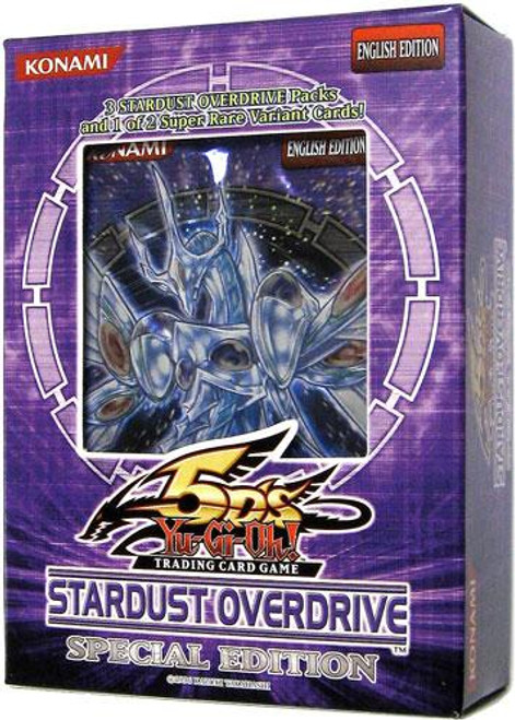 YuGiOh Stardust Overdrive Special Edition Pack [Sealed]