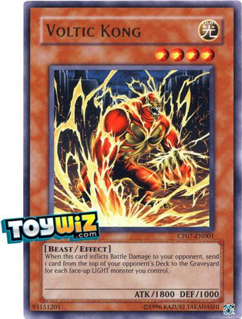YuGiOh Champion Pack: Game 7 Ultra Rare Voltic Kong CP07-EN001