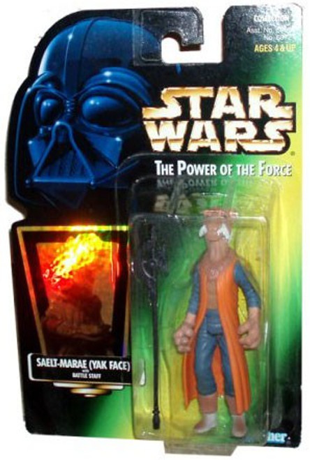 Star Wars A New Hope Power of the Force POTF2 Collection 2 Saelt-Marae (Yak Face) Action Figure [Hologram Card]