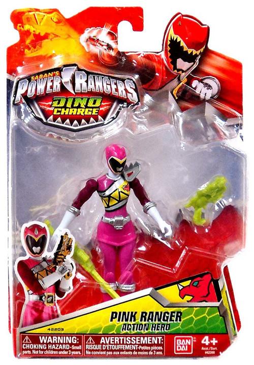 Bandai Power Rangers Dino Charge Pink Ranger Action Figure