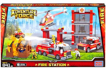 Mega Bloks Adventure Force Fire Station Set #94413