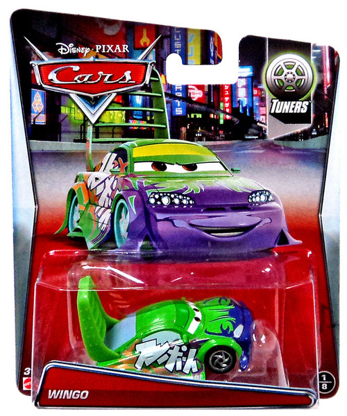Mattel Disney Cars Tuners Wingo Diecast Car #1/8