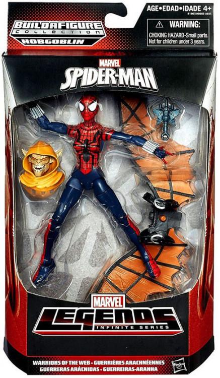 Hasbro Spider-Man Marvel Legends Hobgoblin Series Spider-...