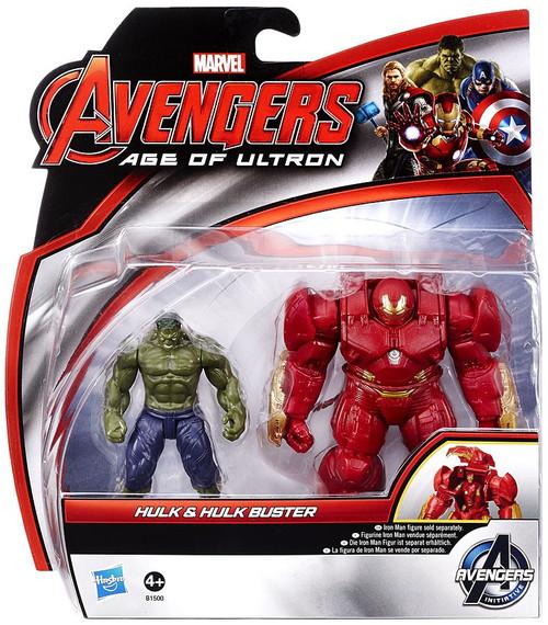 Marvel Avengers Age of Ultron Hulk Hulk Buster 3.75 Deluxe ...