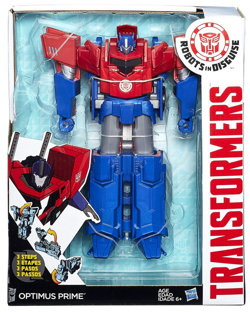 Transformers Robots in Disguise Hyper Change Heroes Optim...