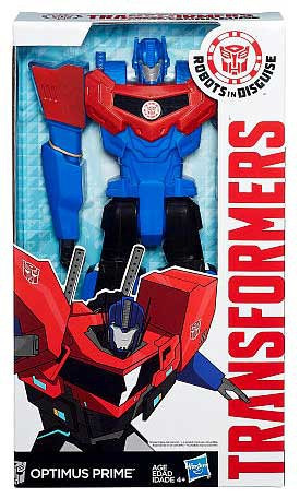 Transformers robots in disguise optimus prime returns