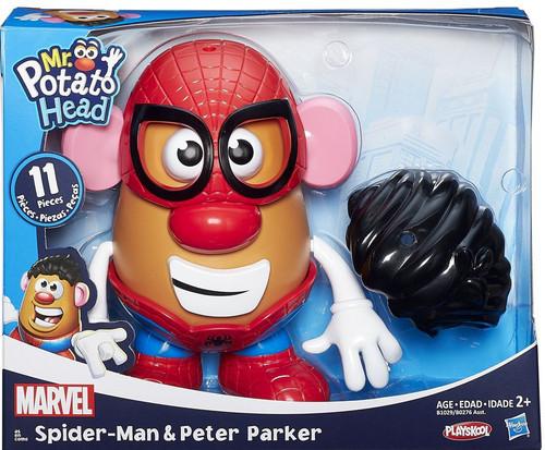 Hasbro Mr. Potato Head Spider-Man Peter Parker & Spiderma...