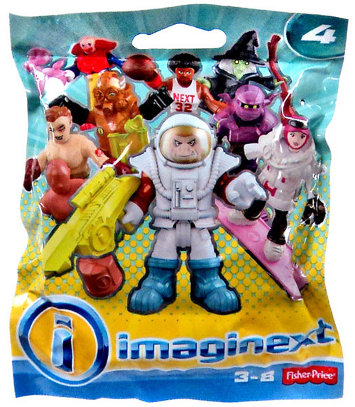 Fisher Price Imaginext Series 4 Collectible Figures Myste...