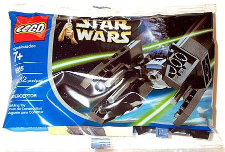 Lego Star Wars Return of the Jedi TIE Interceptor Mini Se...