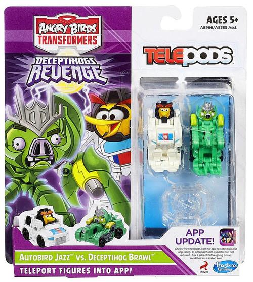 Angry Birds Transformers Telepods Autobird Jazz Bird Vs