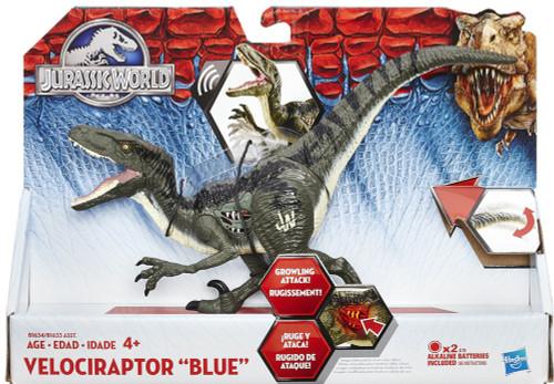 Jurassic World Growler Velociraptor Blue 8 Action Figure Hasbro Toys - ToyWiz