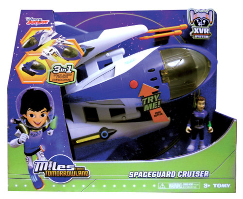 TOMY Miles From Tomorrowland Space Guard Cruiser