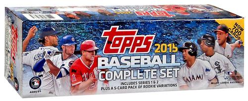MLB 2015 Topps Baseball Cards Series 1 & Series 2 Trading...