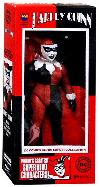 Medicom Batman Retro Sofubi Collection Harley Quinn Actio...
