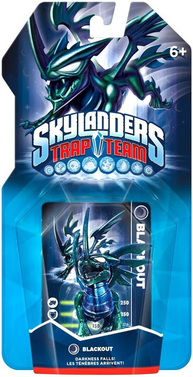 Activision Skylanders Trap Team Blackout Figure Pack