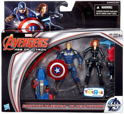 Hasbro Marvel Avengers Age of Ultron Captain America & Bl...